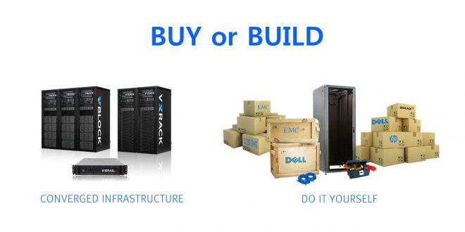"""도라이브 테크 : """"BUY vs BUILD"""", EMC 컨버지드 인프라 전략"""