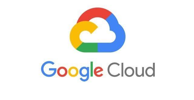 구글 클라우드 로고