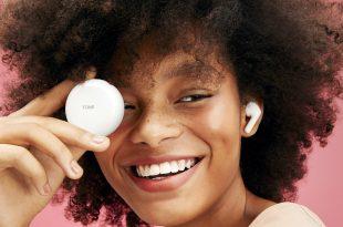 LG, wireless earphone 'tone free'
